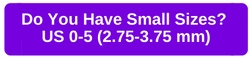 Do You Have Small Sizes?