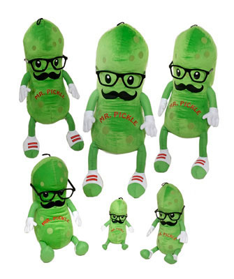 """8"""" Mr. Pickle from Fiesta. Soft Fiesta stuffed toy soothe, comfort, and encourage creative play. Just add imagination.  Toy suitable for ages 3 and up picture"""