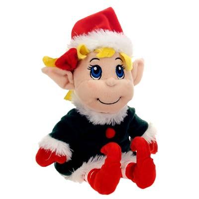 "Fiesta Santa's Secret Elf Girl 12"" picture"