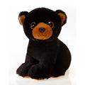 """Belus 9"""" Sitting Big Eyes Black Bear"""