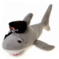 Fiesta Stuffed Pirate Shark 14""