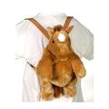 "16"" Beige Horse Backpack"
