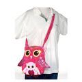 "Fiesta Girly Pink Owl Purse 11"""