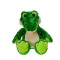 "17"" Stuffed Bean Bag Alligator"