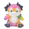"Rainbow Sherbet - 10.5"" Dragon"