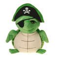 Fiesta Stuffed Pirate Turtle 9""