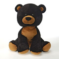 "Lil' Buddies - Bean Bag Black Bear 9"""
