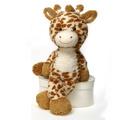 """Fuzzy Folk - """"Sam"""" 16"""" Bean Bag Giraffe"""