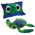 Peek-A-Boo Plush Big Eye Turtle 18""