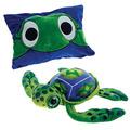 """18"""" Big Eye Turtle Peek-A-Boo Plush"""
