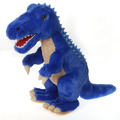 "Fiesta Stuffed Blue Dinosaur 18.5"""