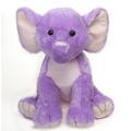 """Fiesta Stuffed Lavender Elephant 15"""""""