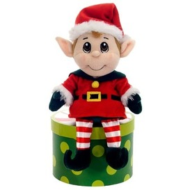"Fiesta Santa's Secret Elf  - BOY 12"" picture"