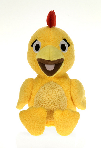 "Sprout - Chica plush from The Sunny Side Up Show 6"" beanie picture"