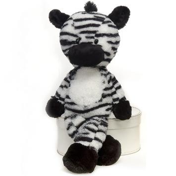 """Fuzzy Folk - """"Ziggy"""" Zebra 16"""" picture"""