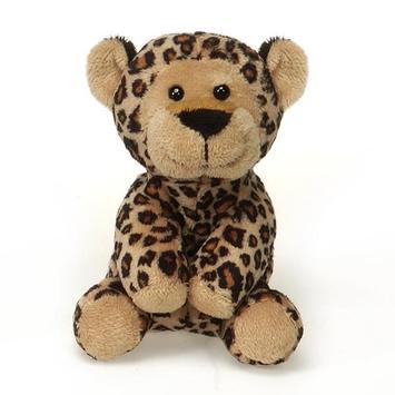 "Lil' Buddies - Bean Bag Leopard 5"" picture"
