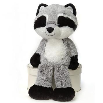 "Fuzzy Folk - ""Greyson"" Raccoon 16"" picture"