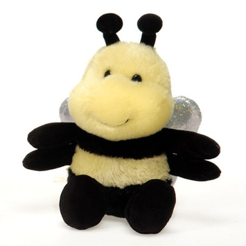 "Fiesta Stuffed Bean Bag Bee 5"" picture"
