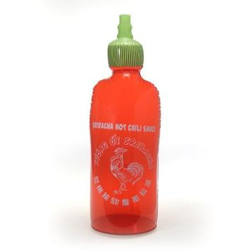 "Sriracha Inflatable Bottle 48"" picture"