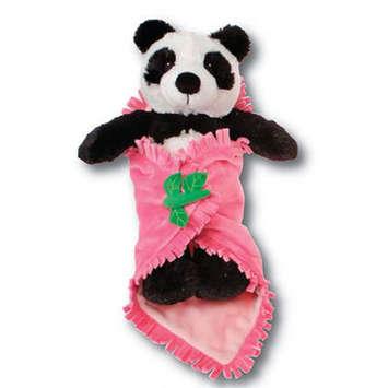 "Fiesta Blanket Babies? Panda 11"" picture"