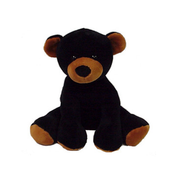 "Comfies  Bean Bag Black Bear 14.5"" picture"