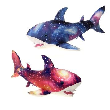 "OUR UNIVERSE - Pink Shark 20"" picture"
