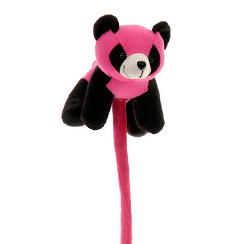 "Fiesta Bendimals Pink Panda 6"" picture"