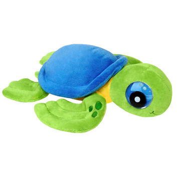"Zoogly I's - Blue/Green Turtle 12"" picture"