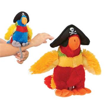 """Fiesta Stuffed Pirate Parrot 6"""" picture"""
