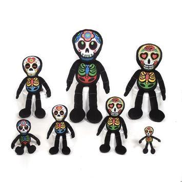 "16"" Los Muertos Skeleton Doll picture"