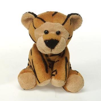 "Lil' Buddies 5"" Bean Bag Tiger picture"
