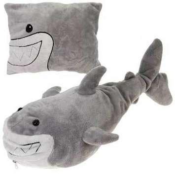 "19"" Shark Peek-A-Boo Plush picture"
