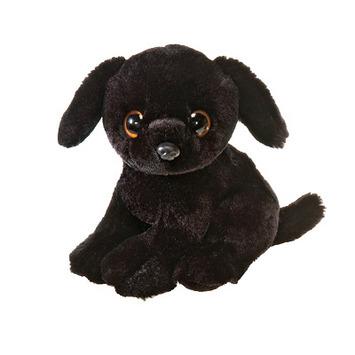 """Lotus 9"""" Sitting Big Eyes Black Labrador picture"""