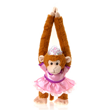 """Fiesta Stuffed Princess Monkey 20"""" picture"""