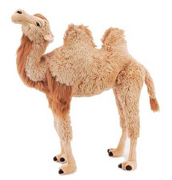 """Fiesta Stuffed Bactrian Camel 40"""" picture"""