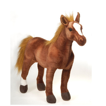 "Fiesta Stuffed Standing Thoroughbred Horse 20"" picture"