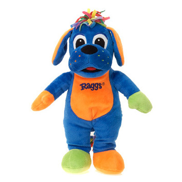 "Raggs??  12"" TALL RAGGS PLUSH TOY picture"