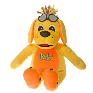 "Raggs??  DELUXE PIDO 18"" PLUSH TOY picture"