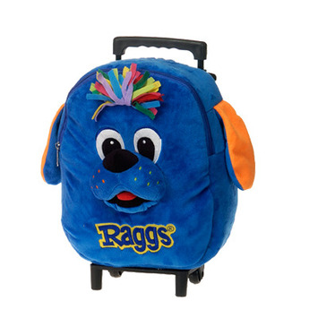 """RAGGS??  12"""" RAGGS DOG BACKPACK & TROLLEY COMBO picture"""