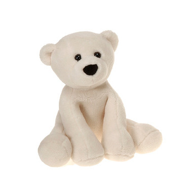 "Comfies  Bean Bag Polar Bear 14.5"" picture"