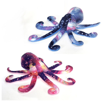 """17"""" Galaxy Octopus- PINK picture"""