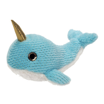 """Sea Treasures - 14"""" Blue Narwhal picture"""