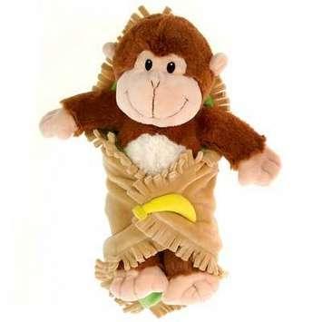 "Fiesta Blanket Babies? Monkey 11"" picture"