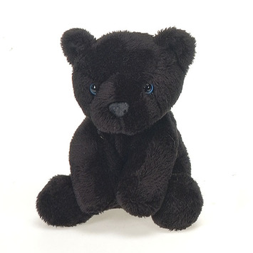 "Lil' Buddies 5"" Bean Bag Black Panther picture"