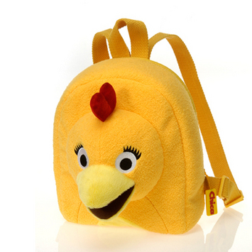 """Sprout  Chica backpack from The Sunny Side Up Show  9"""" picture"""