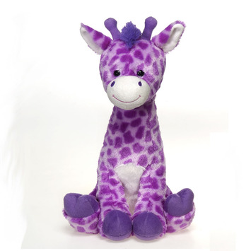 """Fiesta Stuffed Lavender Giraffe 17"""" picture"""