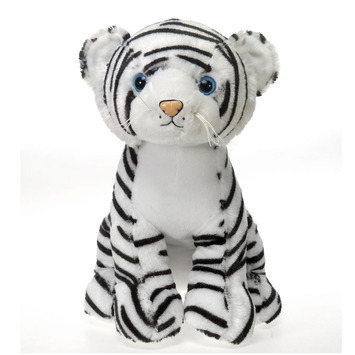 "Fiesta Stuffed White Tiger 15"" picture"