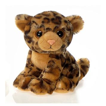 """Fiesta Stuffed Big Eyes Leopard 9"""" picture"""