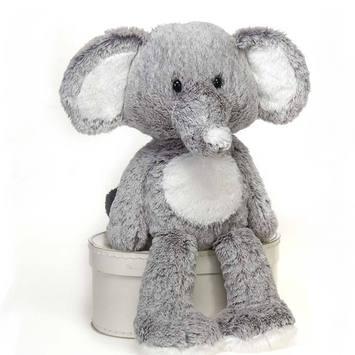 "Fuzzy Folk - ""Taylor"" Elephant 16"" picture"