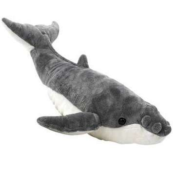"""22"""" Stuffed Humpback Whale picture"""
